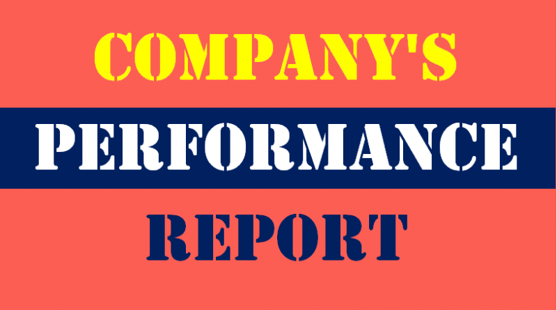 company performance report