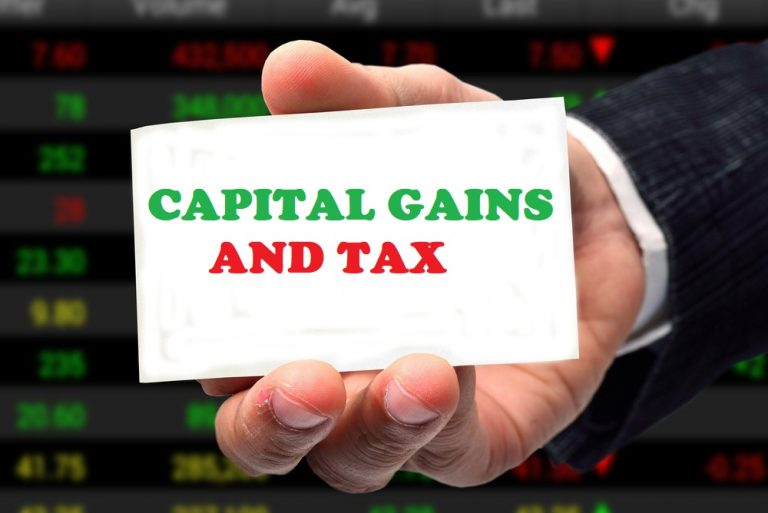 CAPITAL GAINS AND TAX