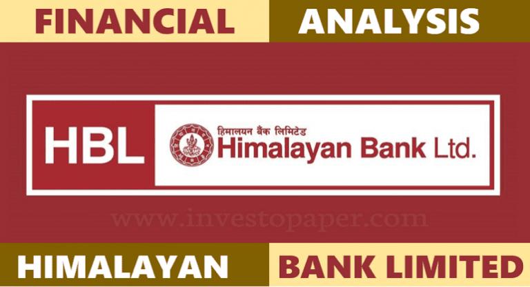 financial analysis of himalayan bank