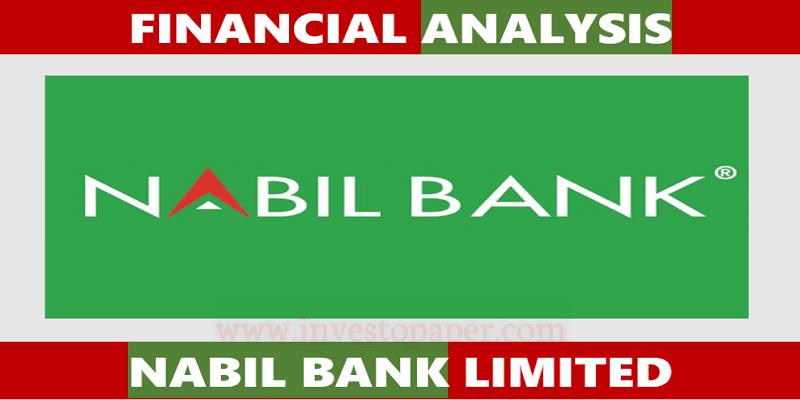 financial analysis of nabil bank