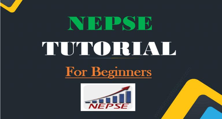 nepse tutorial