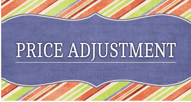 price adjustment