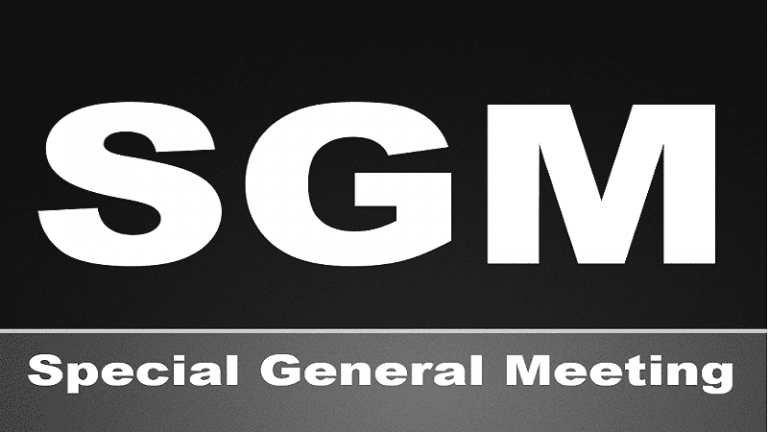 Special General Meeting (sgm)