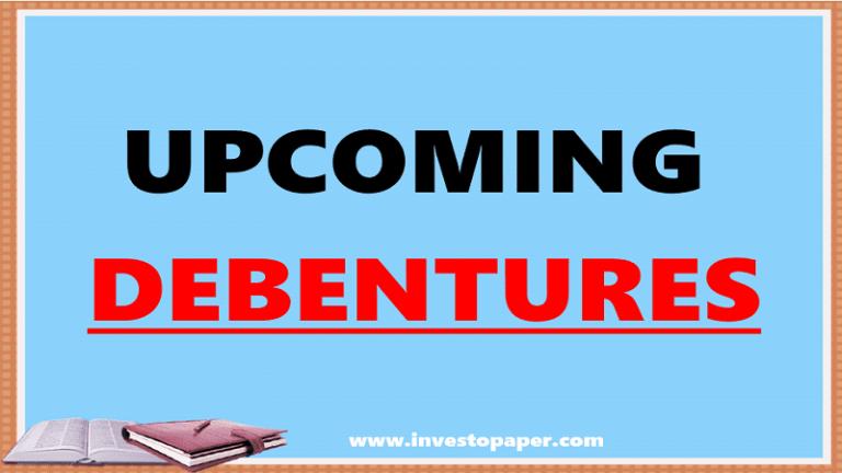 upcoming debenture/debentures