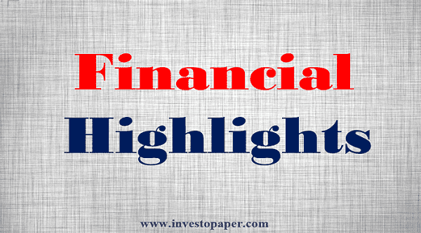 quarter financial highlights