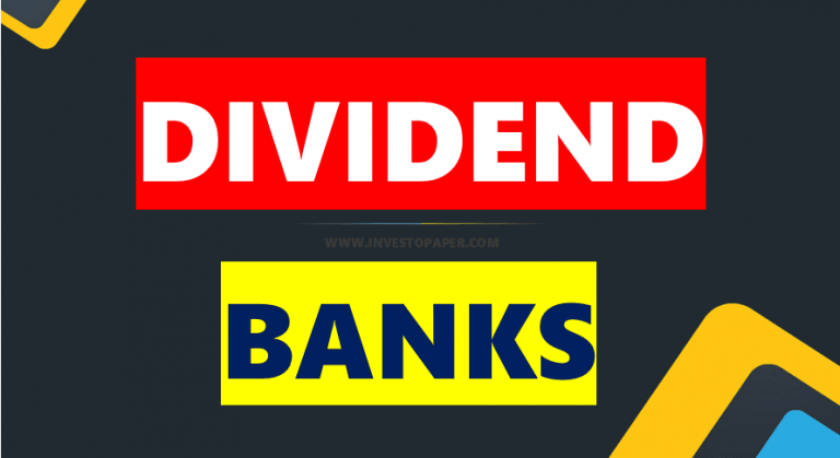 DIVIDEND OF BANKS