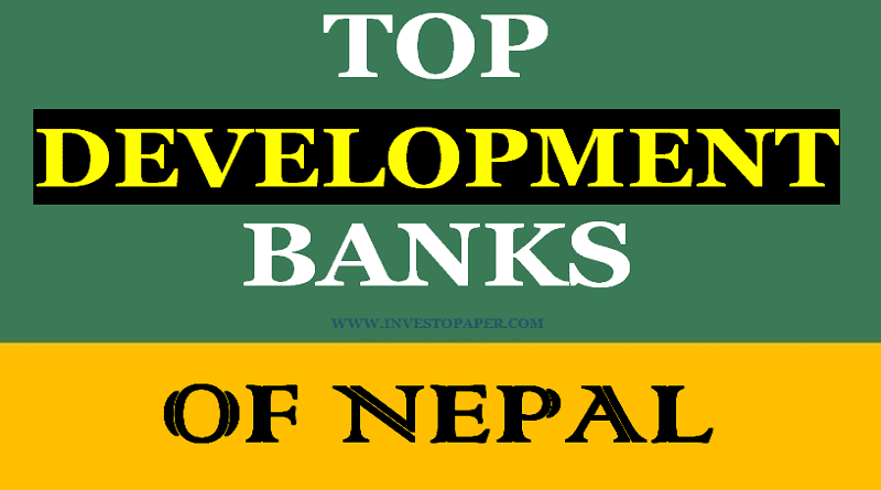 TOP development banks of nepal