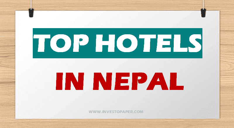 TOP HOTELS IN NEPAL