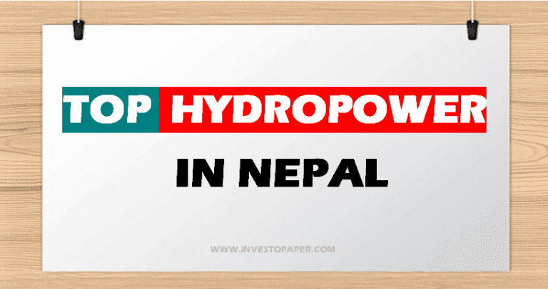 TOP HYDROPOWER IN NEPAL