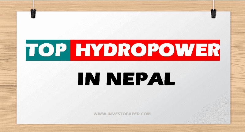 TOP HYDROPOWER IN NEPAL