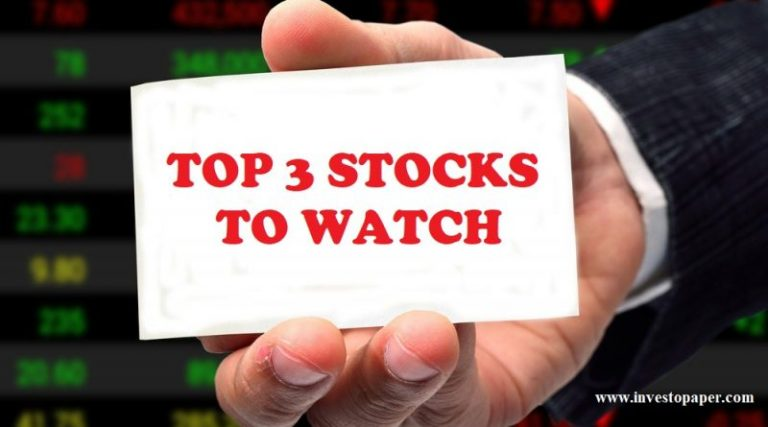 top 3 stocks